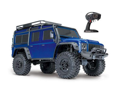 Traxxas TRX-4 Land Rover Defender bleu 4x4 1/10