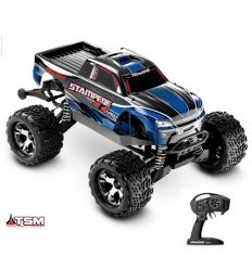 Traxxas Stampede - 4x4 - 1/10 VXL TQi 2.4GHZ TSM Rouge