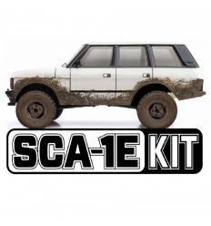 Crawler en kit 1/10ème SCA-1E LAND ROVER RANGE ROVER 1981