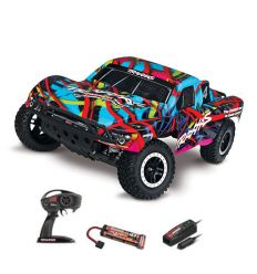 Traxxas Salsh - 4x2 - 1/10 BRUSHED TQ 2.4GHZ - iD - Orange