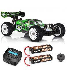 Pack Promo Spirit NXT Xtrem + 2 Batteries 2s ( 5200 mAh ) + chargeur