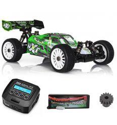 Pack Promo Spirit NXT Xtrem + Batterie 4s ( 5500 mAh ) Gen Ace Bashing + chargeur