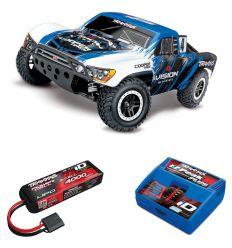 Pack Traxxas Slash 4x4 Vision + Chargeur + batterie 3s 4000 mAh