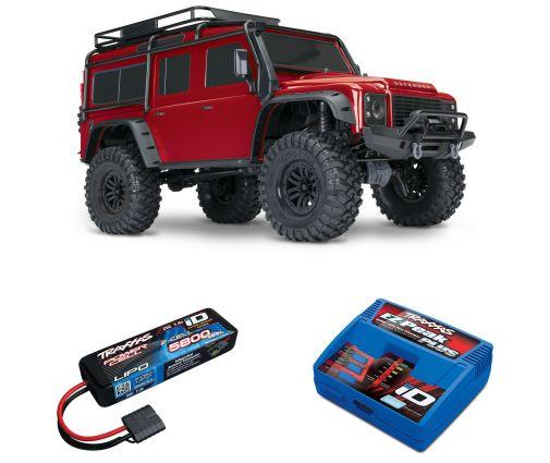 Pack Traxxas TRX-4 Defender + Chargeur + batterie 2s 5800 mAh