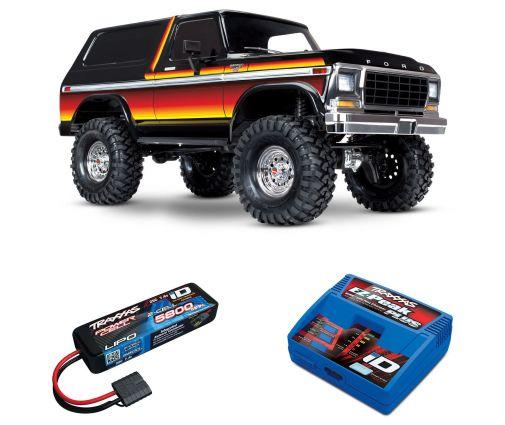 Pack Traxxas TRX-4 Bronco + Chargeur + batterie 2s 5800 mAh
