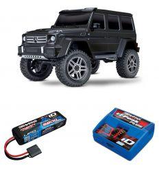 Pack Traxxas TRX-4 Mercedes + Chargeur + batterie 2s 5800 mAh
