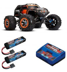 Pack Traxxas Summit + Chargeur double + 2 batteries 7600 mAh