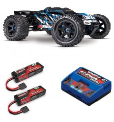 Pack Traxxas E-Revo 2.0 + Chargeur double + 2 batteries 5000 mAh