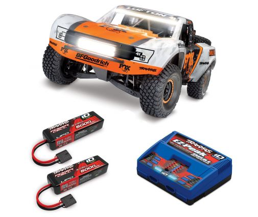 Pack Traxxas UDR Fox + Chargeur double + 2 batteries 5000 mAh
