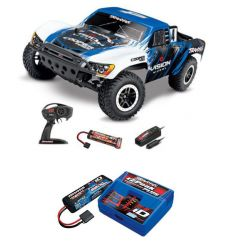 Pack Traxxas Slash 4x2 Vision + Chargeur + batterie 2s 5800 mAh