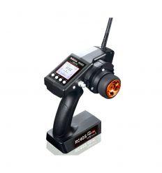 Radiocommande RC4GS V2 4-canaux avec recepteur R6FG gyro
