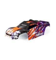 Carrosserie E-REVO 2 peinte et décorée VIOLET ( TRX8611T )