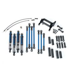 Kit bras / biellette long TRX-4 complet – bleu ( TRX8140X )