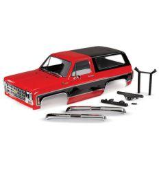 Carrosserie complète Chevrolet Blazer Rouge Peinte et décorée ( TRX8130R )