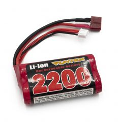 Batterie Funtek li-ion 7.4V 2200 mA 15C Dean ( FTK-22001 )