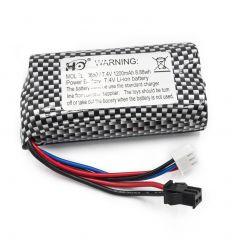 Batterie Li-ion 7.4V 1200mAh pour Funtek Trail ( FTK-MT2001001 )
