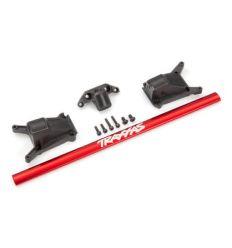 Kit de renfort chassis long rouge – Rustler Slash ( TRX6730R )