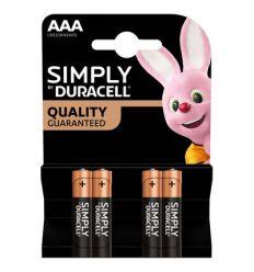 Piles Duracell AAA LR03