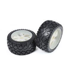 Paire de roues Piste pour voiture 1/10 ( T4900/7050 )