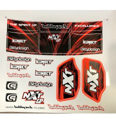 Planche stickers Spirit NXT GP