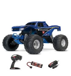 Traxxas Bigfoot - 4x2 - 1/10 Brushed TQ 2.4GHZ Firestone