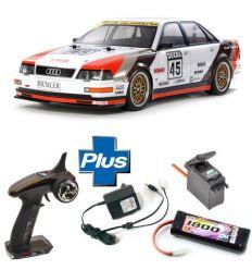 Kit Combo Tamiya Audi V8 Touring 1991 ( 58682L )