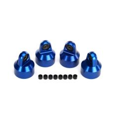Bouchons d'amortisseur GTX Alu anodisés Bleu X-Maxx ( TRX7764A )