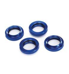 Bague de ressort réglable alu anodisées bleu X-Maxx ( TRX7767 )