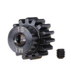 Pignon moteur 15 DTS Renforcé - 1.0 Metric Pitch - 5 mm ( TRX6487R )