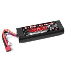 Batterie X-TRA Vosges Modélisme 2s 4000 mAh T-Dean