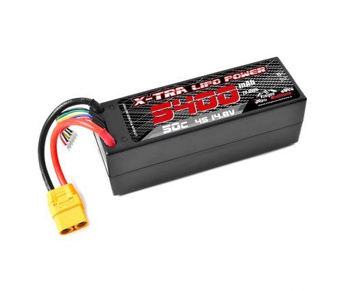 Batterie X-TRA Vosges Modélisme 4s 5400 mAh XT90