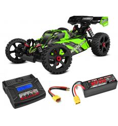 Pack Team Corally Radix4 2021 + Chargeur Power Plus + batteries 5400 mAh