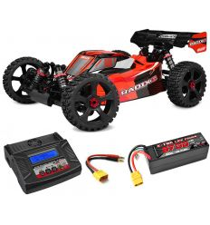 Pack Team Corally Radix6 2021 + Chargeur Multi80RS + batteries 5400 mAh
