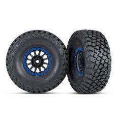 Roues montées collées Method Racing Bleu (2) ( TRX8474X )