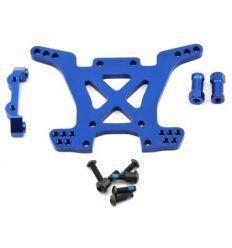 Support d'amortisseurs arrière 7075-T6 alu anodisé bleu ( TRX6838X )