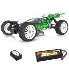 BX8 Runner Verte + Lipo 2s 2200 + chargeur rapide