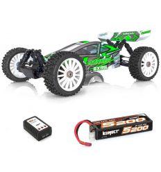 BX8 Runner Verte + Lipo 2s 5200 + chargeur rapide
