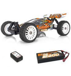 BX8 Runner Orange + Lipo 2s 2200 + chargeur rapide
