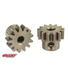 Team Corally - Pignon moteur 32 DP - Court - Acier trempé - 13 Dents - Axe moteur 3.17mm ( C-71513 )
