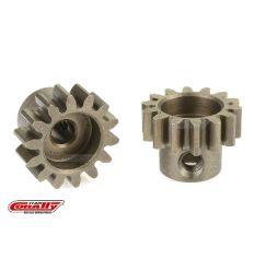 Team Corally - Pignon moteur 32 DP - Court - Acier trempé - 14 Dents - Axe moteur 3.17mm ( C-71514 )