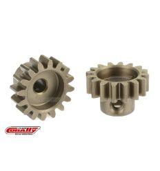 Team Corally - Pignon moteur 32 DP - Court - Acier trempé - 16 Dents - Axe moteur 3.17mm ( C-71516 )