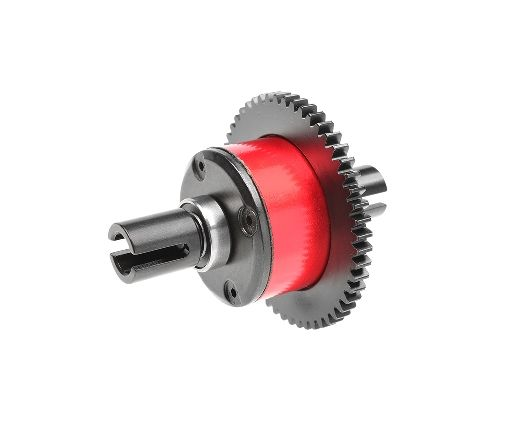 Team Corally - Center Diff Assembly - Aluminium / Steel - 46T Main Gear - Xpert Build - 100K - 1 Set ( C-00180-685 )