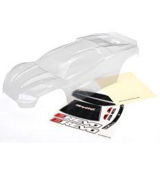 Carrosserie E-REVO 2 transparente + autocollant ( TRX8611 )