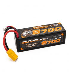 Batterie Konect Lipo 6700mah 14.8V 60C 4S1P XT90 (KN-LP4S6700BASH-XT)
