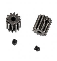Pignon moteur 13 dents+vis (2pcs)
