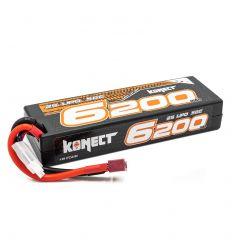 Batterie Konect 2s 7.4V 6200Mah ( KN-LP2S6200 )