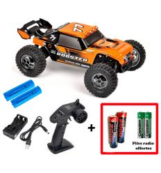 Pack T2M Booster + Batteries 2000 mAh + Piles radio Offertes