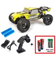 Pack T2M Tracker + Batteries 2000 mAh + Piles radio Offertes