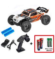 Pack T2M Shaker + Batteries 2000 mAh + Piles radio Offertes