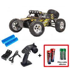 Pack T2M Dune + Batteries 2000 mAh + Piles radio Offertes
